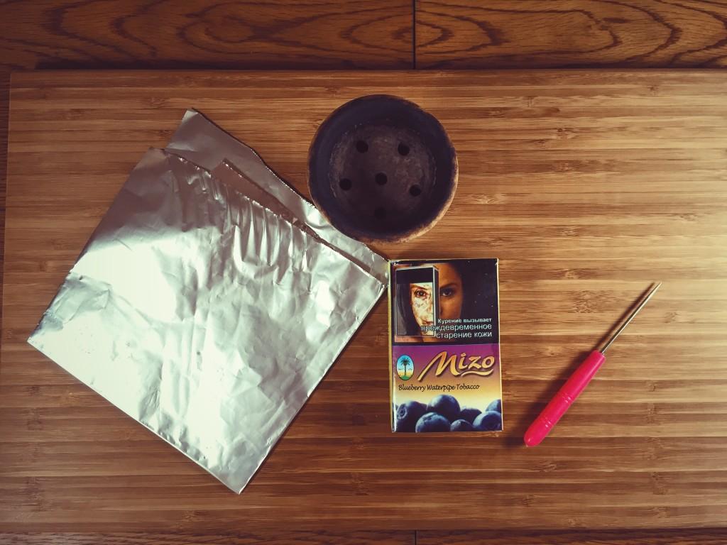 как приготовить кальян 1