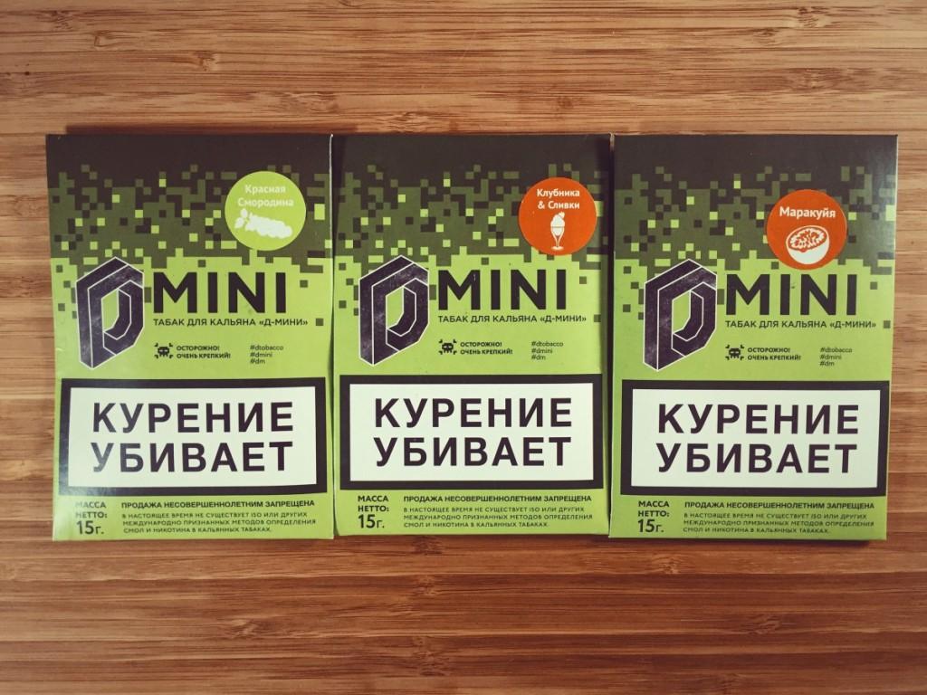 Табак для кальяна D mini Фото 1