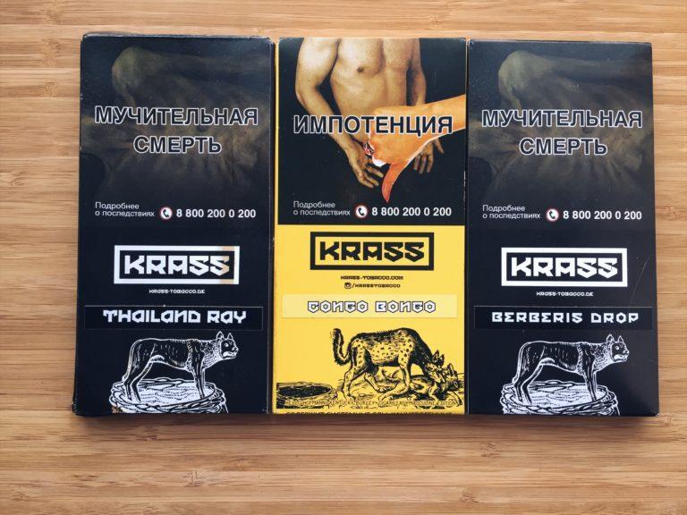 Табак для кальяна Krass